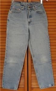 *Vintage Womens Levi  Red Tab Jeans 512 6 Petite M USA