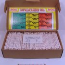 """Vintage 70's """" TRIPLE 50's STRAW DEAL """" Tickets NEW USA"""