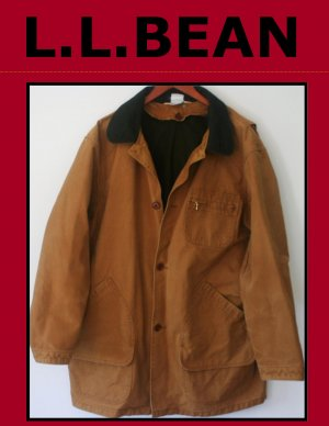 Vintage L.L.Bean Original Field Coat with Wool Liner USA