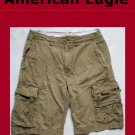 Mens Men's AE AMERICAN EAGLE OUTFITTERS  Classic Cargo Short Size 28