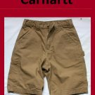 Men's Carhartt Style # B147: Canvas Work Short Size 30