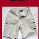 Young Men's HURLEY INT Cargo Walk Shorts Size 27 USA
