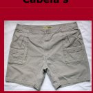 Men's Cabela's 7 Pocket Hiker Shorts Size 45