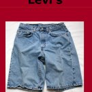 Men&#39;s Levi Strauss Red Tab 550 Relaxed Fit Jean Shorts Size 31 USA