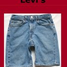 Men's Levi Strauss Red Tab 505 Regular Fit Jean Shorts Size 31 USA