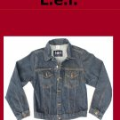 Girls's l.e.i.  Unlined Denim Jean Jacket Size Large