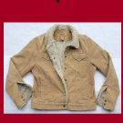 Girls's Aeropostale Tan Corduroy Insulated Jacket Size XL