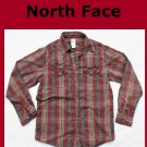 Men&#39;s THE NORTH FACE Plaid Cotton A5 Series Shirt Medium