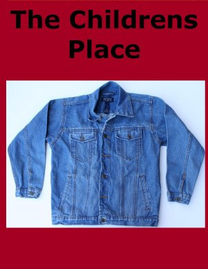 Boy&#039;s XL 14 The Childrens Place Unlined Denim Jean Jacket