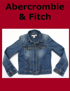 Women's Abercrombie & Fitch Western Denim Jean Jacket S