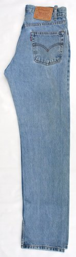 Mens Levi 505 Red Tab Zip Fly Regular Fit  Jeans 31 x 32