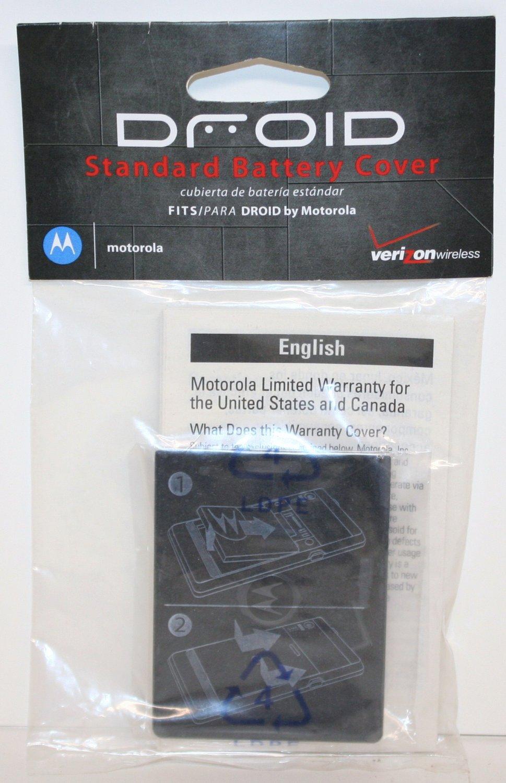 OEM Motorola Battery Cover Door  Motorola DROID SJHN0356A