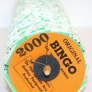 UNIQUE 1 (One) Spindle ORIGINAL JAR-O'-DO BINGO 2000 Tickets