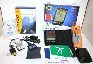 "PALM handspring visor ""PLUS"" Margi presenter-to-go Graphics Adapter"