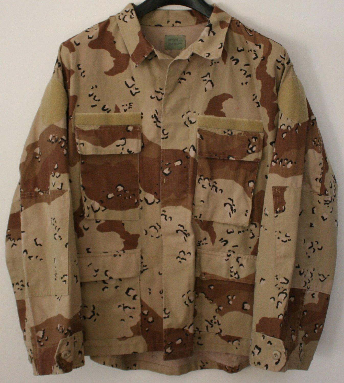 U.S. ARMY Military Field Shirt - Desert Camo - X-Large Regular