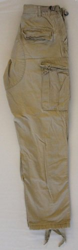 Tru Spec Khaki BDU pants Small - Regular Military Spec RIPSTOP Cargo Pockets