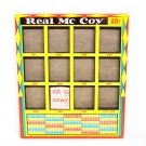 Vintage Real McCoy 10 Cent Window Box Punchboard