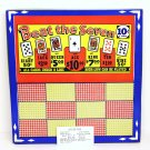 "Vintage 10 cent 1200 hole "" Beat the Seven "" Punchboard NEW OLD STOCK USA"