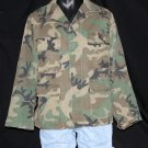 U.S. ARMY Military Field Shirt/Coat - Woodland Camo - Medium Regular