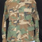U.S. ARMY Military Aircrew Combat Coat - Woodland Camo - Medium Regular