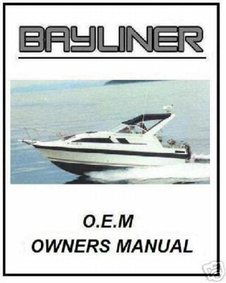 Bayliner Volvo Penta & Mercruiser & FORCE Manuals