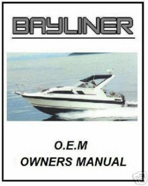 Bayliner Volvo Penta & Mercruiser & FORCE Manuals
