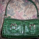 Dooney& Bourke  Pocket Zip Top - Pine Green