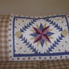 Country Quilted Lg Pillow Sham