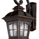 Trans Globe Antique Rust Outdoor Wall Lantern 5420AR