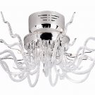 Trans Globe Ageo Collection Modern Flush Mount Ceiling Light MDN-432