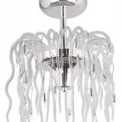 Ageo Collection Modern Semi Flush Mount Ceiling Light MDN-433