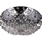 Trans Globe Modern Polished Chrome and Crystal Ceiling Light MDN-539