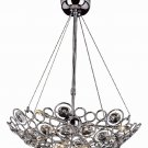 Trans Globe Modern Merga Collection 9 Light Chrome Pendant MDN-548