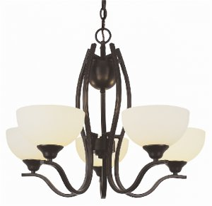 Trans Globe Oil Rubbed Bronze Contemporary Chandelier 6505ROB