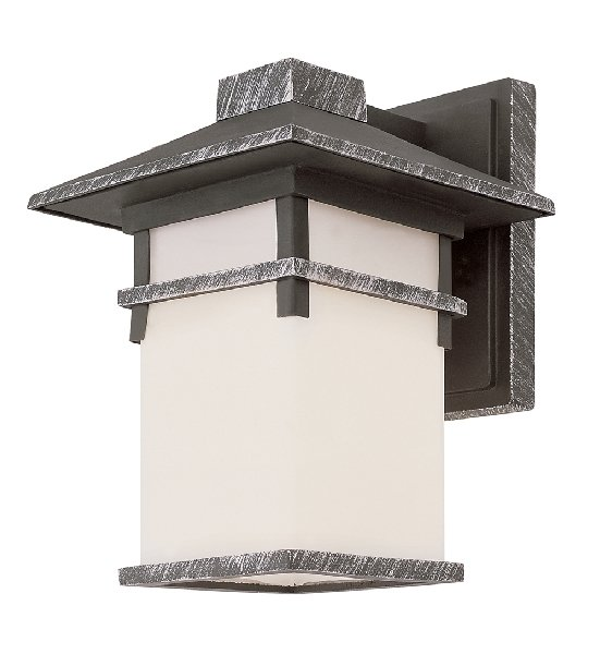 Trans Globe Outdoor Wall Lantern with Frosted Glass 40022