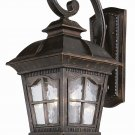 Trans Globe Chesapeake Antique Rust Outdoor Wall Lantern 5420AR