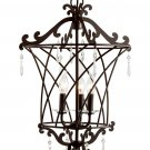 Trans Globe Oil Rubbed Bronze Basket Weave Pendant 70313