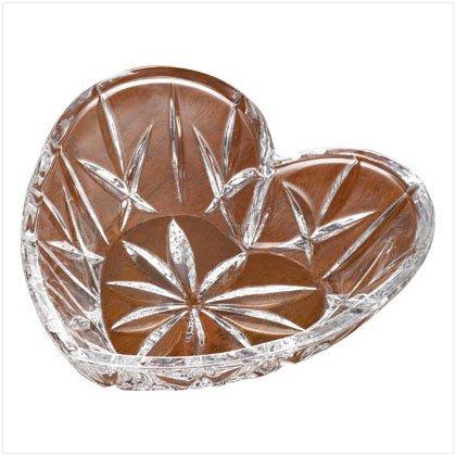 Crystal Heart Dish
