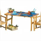 Solid Wood Picnic Table - D