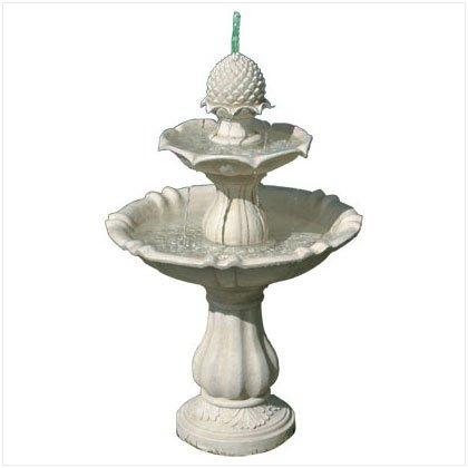 Acorn Motif Fountain - D