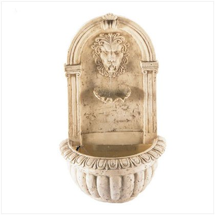 Lion Head Wall Fountain - D