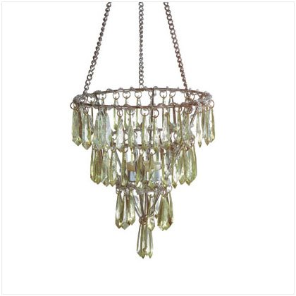 Green Crystal Chandelier