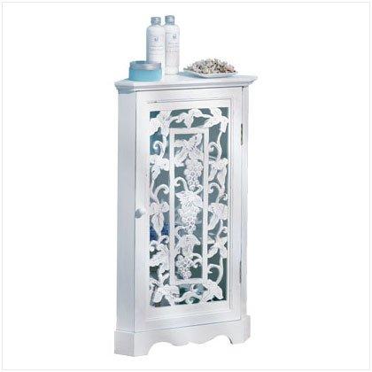 Carved Corner Cabinet - D
