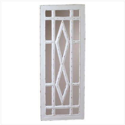 Rustic Windowpane Mirror - D