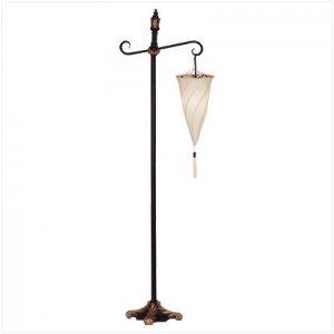 Hanging Spiral Shade Floor Lamp - E