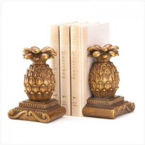 Pineapple Bookends - D