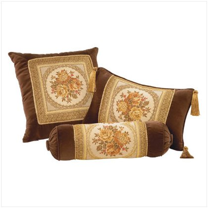 Velvety Trio Pillow Set