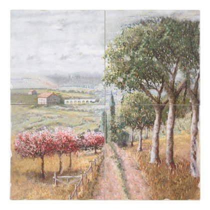Tuscan Countrside Wall Mural