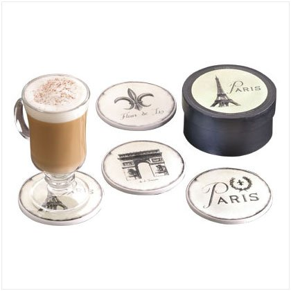 French-Inspired Coaster Set - D