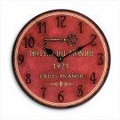 Hotel du Monde Wall Clock - D
